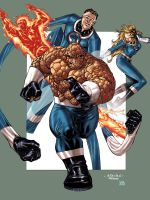 FANTASTIC 4 by Guile and Soul by Soul-the-Awkward