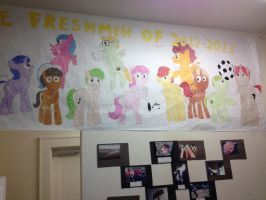 My freshman class as ponies by The-Bryce-Is-Right