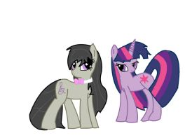 The Best Ponies: Octavia and Twilight Sparkle by Zilford-the-legend