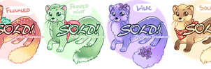 AUCTION: Sweet Stoats [OPEN~] by DnA-Adopts