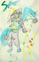 .:Orochimaru:. by Ladywiththeface