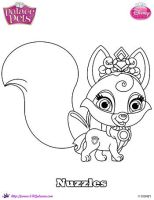 Nuzzles coloring Page SKGaleana by SKGaleana