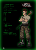 Craig Boone - 1st NCR Recon by Sheason