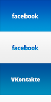Facebook and VKontakte Wallpapers by iTomix