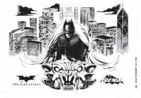 The Dark Knight by phoeni-x-man