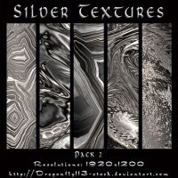 Silver Textures Pack 2 by BFstock