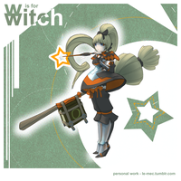 w is for witch by le-mec