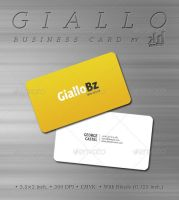 Giallo Business Card by kh2838