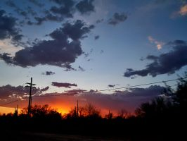 Tucson Sunset. by theblueofmyoblivion