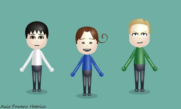 Axis Powers Miis by VioletteSunset
