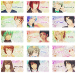 [STAMP] AS - All boys by marsu96