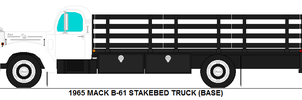 Mack B-61 Stakebed truck base by MisterPSYCHOPATH3001