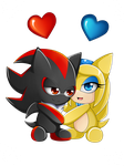 Chao in love by AlishDark