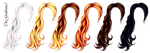 Hair natural colors by TheGuillotine3