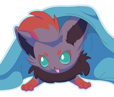 Zorua pup by CoaCoaIcing