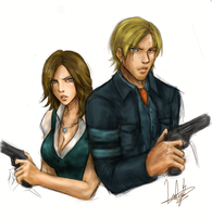 RE6 by LaDyRvE
