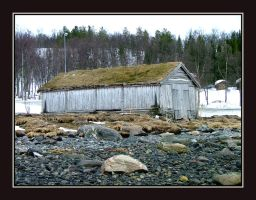 The Old Fishboat House II by auroraboralis