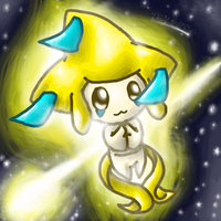Jirachi Commission by MotherGarchomp622