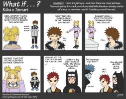 What If - Kiba x Temari by one-of-the-Clayr