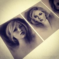 Charcoal drawings by gabbyd70