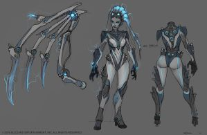 Queen of Ghosts Kerrigan by Mr--Jack