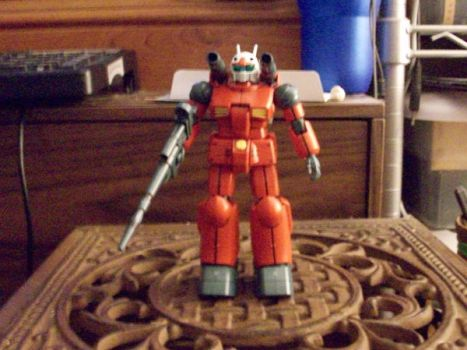 RX-77-2 Guncannon standing by Hinesy
