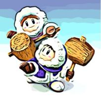 Project SMASH-Ice Climbers by bazookatortise