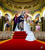 A Talespin wedding by W-Goldwing