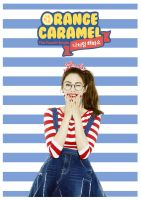 Nana - Orange Caramel - Tablet/Phone Wallpaper by wiarae