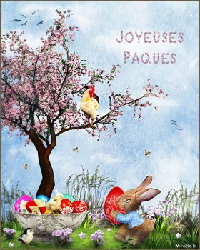 Oeufs de Paques by MireilleD
