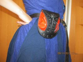 Leather belt pouch by EgorOrda