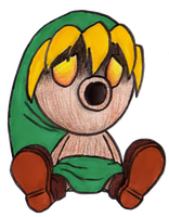 Chibi Link - Majora's Mask by EasterEgg23