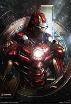 avengers iron man ::: earth's mightiest series #4 by johngiang