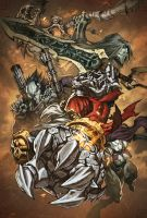 Darksiders Cover by Tonywash