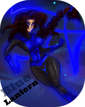 Blue Lantern/Nuriyah by ForgetMorals