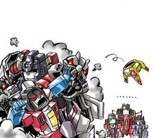 Starscreams by benisuke