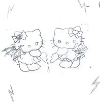 my Hello Kitty tattoo idea by forsakenkikyo