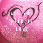 All You Need Is Love Heart by TheArtistThePoet