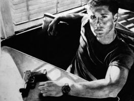 Dean in charcoal by SurpassingSolitude
