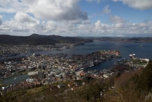 Bergen from Above by JRL5