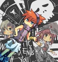 The World Ends With You by graff-eisen