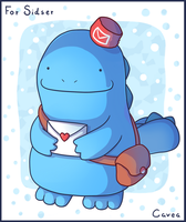 Postman Quagsire by Louivi