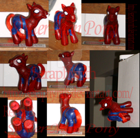 Spider-Man Pony Custom by Seraphynth