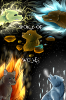 World of Wolves Cover by DarkWolfArtist