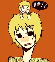 SP anime: That tourette kid by DaRainbowGurl
