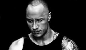 The Rock by laziee2ann