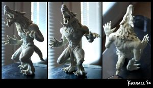 Werewolf Sculpture by Nehvah
