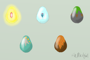 Watchers free Adoptable eggs! -CLOSED- by MicoNutziri