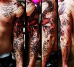 asian sleeve sitting 2 by Richroyalty