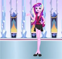 Cadance new look by kimpossiblelove